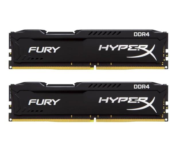 HyperX 8GB(2x4GB) 2666MHz CL15  Fury Black  - 254683 - zdjęcie