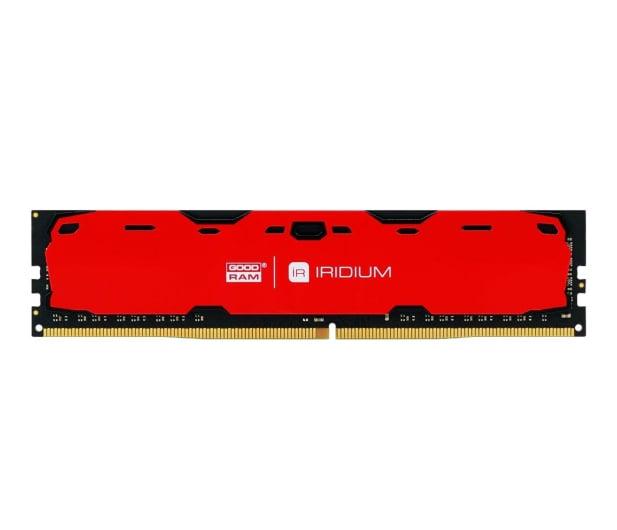 GOODRAM 8GB 2400MHz IRIDIUM Red CL15 - 361609 - zdjęcie