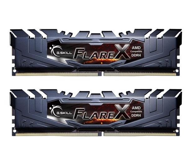 G.SKILL 16GB (2x8GB) 3200MHz CL16 Flare X Black Ryzen  - 459313 - zdjęcie