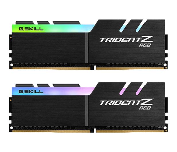 G.SKILL 32GB (2x16GB)  3200MHz CL14 Trident Z RGB LED - 452798 - zdjęcie