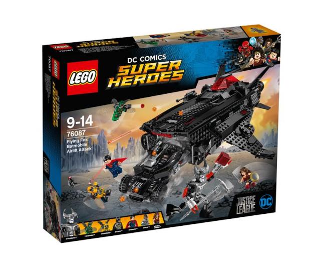 LEGO Super Heroes  Atak powietrzny Batmobila - 376717 - zdjęcie