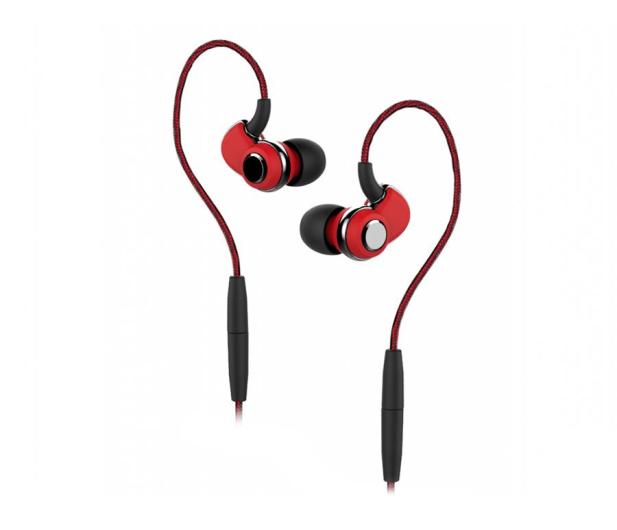 SoundMagic ST30 Black-Red Bluetooth 4.2 - 376989 - zdjęcie 1