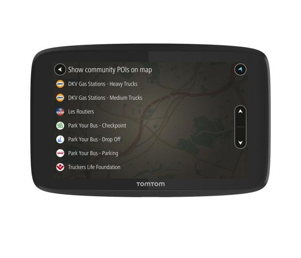 """TomTom GO PROFESSIONAL 6250 6"""" Europa Wi-Fi - 366826 - zdjęcie"""