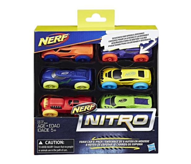 NERF Nitro Foam Car 6pak - 373146 - zdjęcie