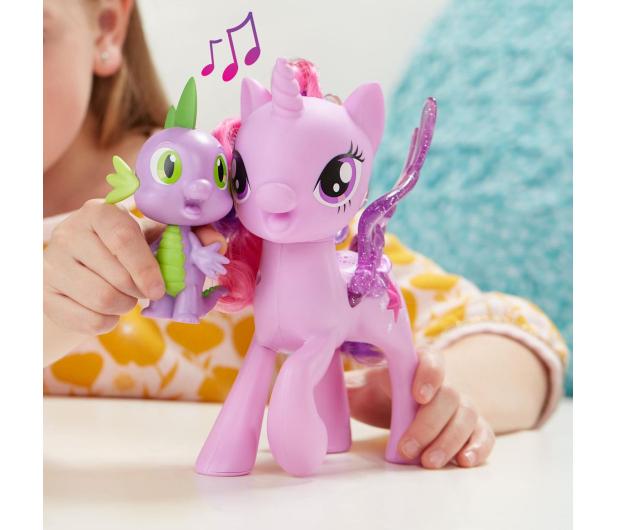 My Little Pony Twilight Śpiewająca ze Spikiem - 379306 - zdjęcie 3