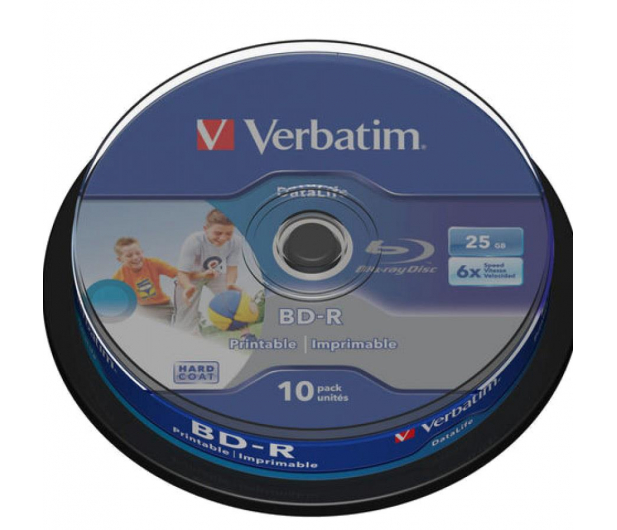 Verbatim 25GB X6 PRINTABLE DATALIFE (CAKE 10 szt ) - 377482 - zdjęcie