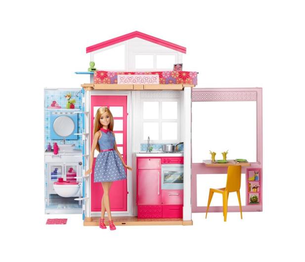 Barbie Duży Domek dla lalek z akcesoriami i lalką - 344589 - zdjęcie