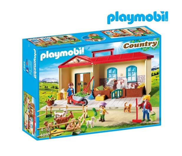 61cece49b45a30 PLAYMOBIL Przenośne gospodarstwo rolne - Klocki PLAYMOBIL® - Sklep ...