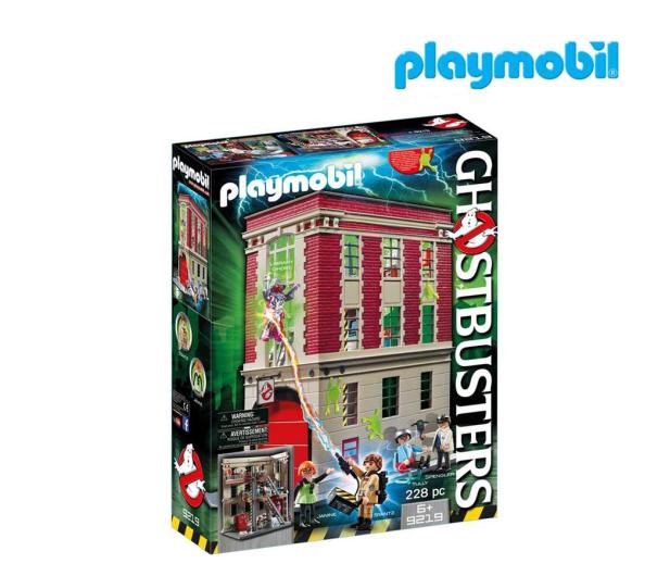 PLAYMOBIL Ghostbusters Pogromcy Duchów - Straż pożarna - 364378 - zdjęcie