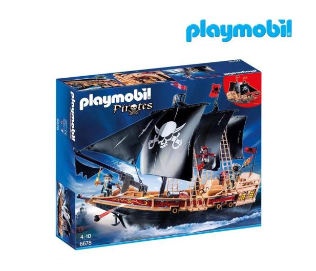 PLAYMOBIL Piracki statek bojowy - 338053 - zdjęcie