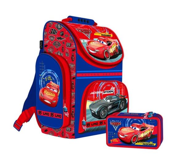 0cdd70ae5e8d2 Majewski Disney Cars 3 Tornister szkolny + piórnik z wyp. - 380171 - zdjęcie
