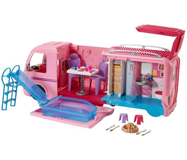 Barbie Wymarzony Kamper - 380334 - zdjęcie