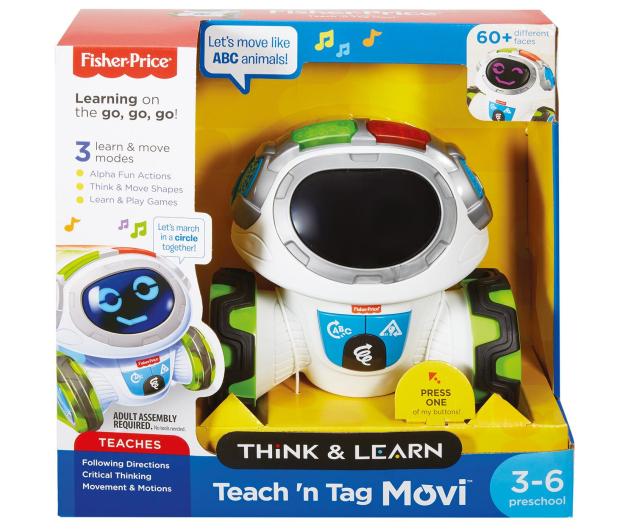 Fisher-Price Movi Mistrz Zabawy - 380390 - zdjęcie 6