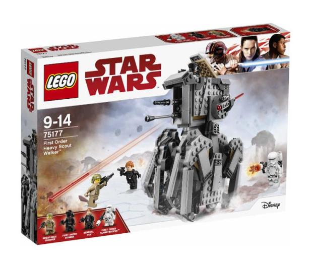 LEGO Star Wars Ciężki zwiadowca Najwyższego Porządku - 380674 - zdjęcie