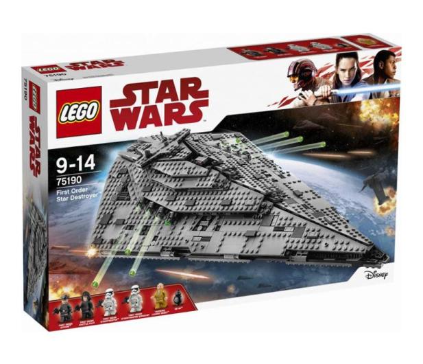 LEGO Star Wars Niszczyciel gwiezdny - 380699 - zdjęcie 1