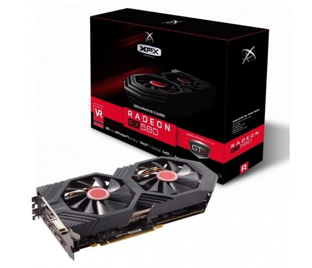 XFX Radeon RX 580 GTS XXX Edition OC+ 8GB GDDR5 - 381894 - zdjęcie