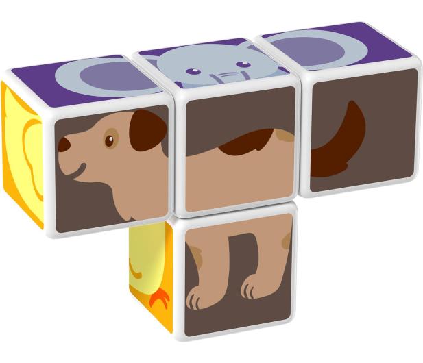 TM Toys MAGICUBE Zestaw Zwierzęta Domowe - 382192 - zdjęcie 5