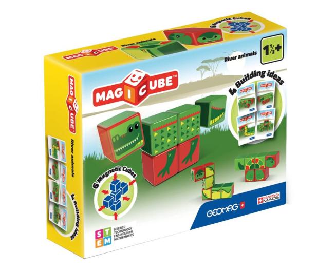 TM Toys MAGICUBE Zestaw Zwierzęta Rzeczne - 382196 - zdjęcie