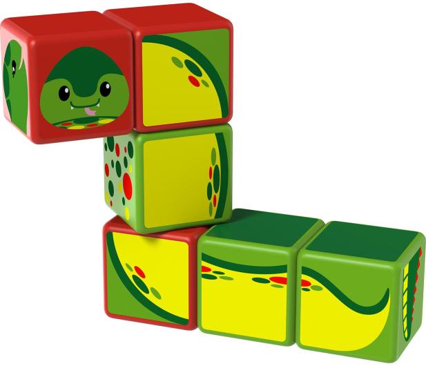 TM Toys MAGICUBE Zestaw Zwierzęta Rzeczne - 382196 - zdjęcie 4