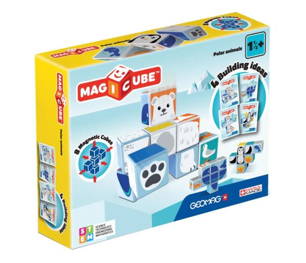 TM Toys MAGICUBE  Zestaw Zwierzęta Polarne - 382198 - zdjęcie 1