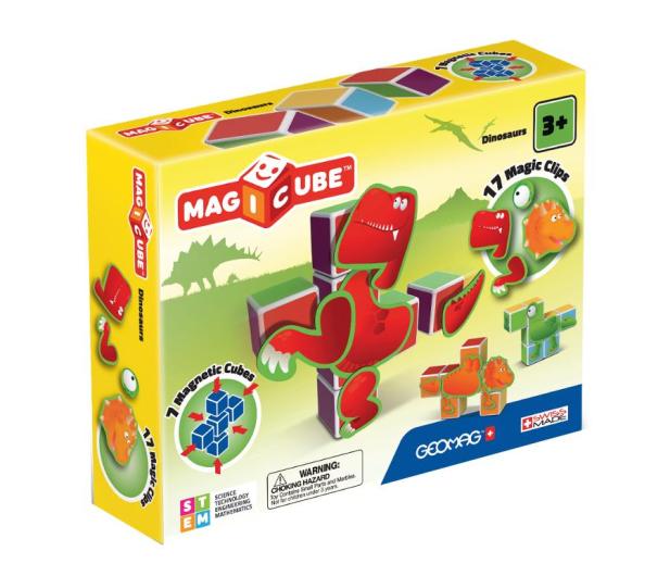 TM Toys MAGICUBE Zestaw Dinozaury - 382201 - zdjęcie
