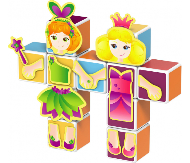 TM Toys MagiCube Zestaw księżniczka - 382203 - zdjęcie 2