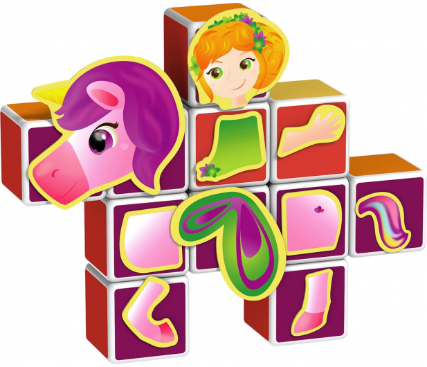 TM Toys MagiCube Zestaw księżniczka - 382203 - zdjęcie 4