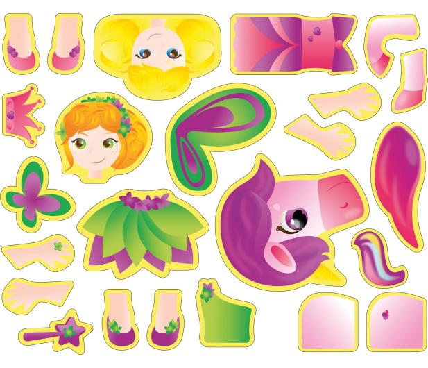 TM Toys MagiCube Zestaw księżniczka - 382203 - zdjęcie 8