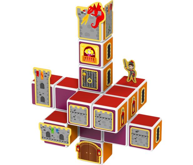 TM Toys MAGICUBE Zestaw zamki i domki - 382204 - zdjęcie 2