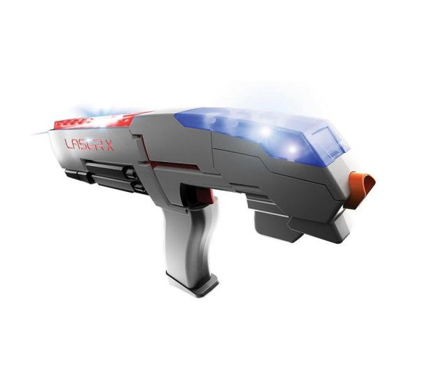 TM Toys LASER-X Pistolet na podczerwień zestaw pojedynczy - 382429 - zdjęcie