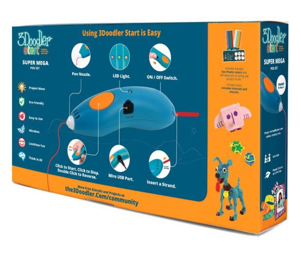 TM Toys 3Doodler Mega Zestaw - 382222 - zdjęcie 2