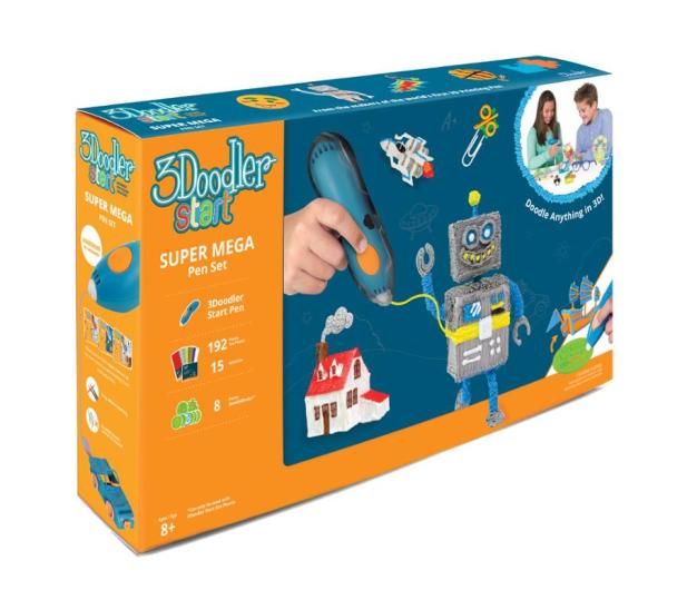 TM Toys 3Doodler Mega Zestaw - 382222 - zdjęcie
