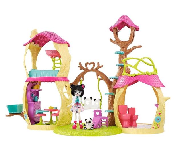 Mattel Enchantimals Zestaw Leśny Domek  - 383224 - zdjęcie