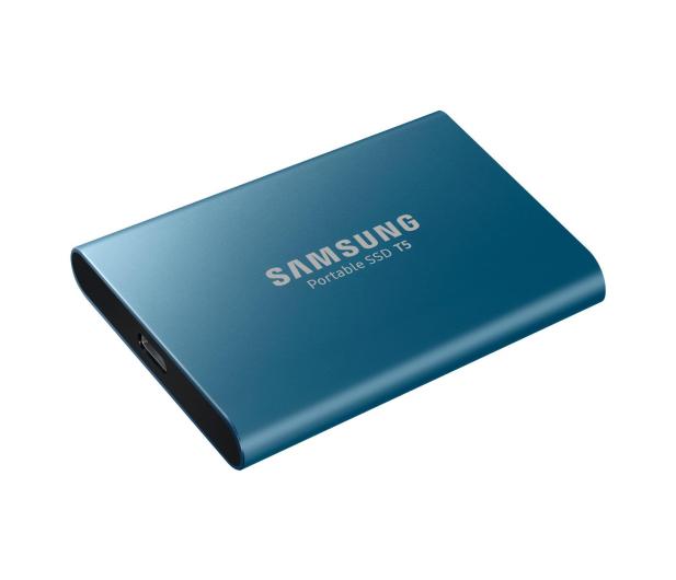 Samsung Portable SSD T5 500GB USB 3.2 Gen. 2 Niebieski - 383634 - zdjęcie 5