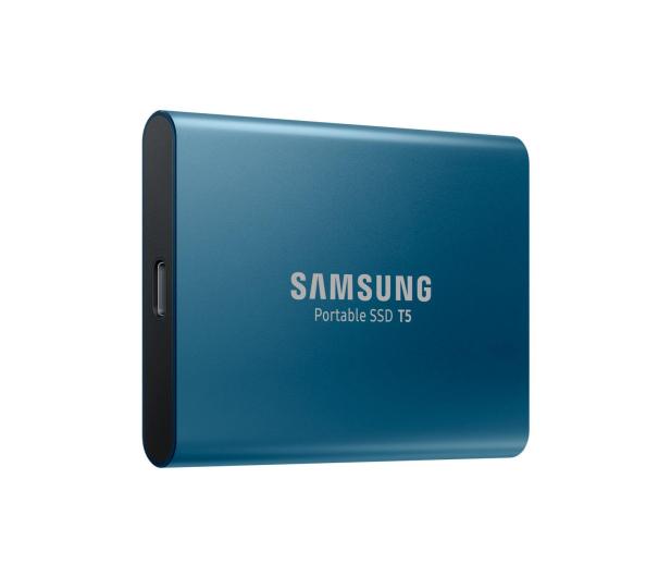 Samsung Portable SSD T5 500GB USB 3.2 Gen. 2 Niebieski - 383634 - zdjęcie 4