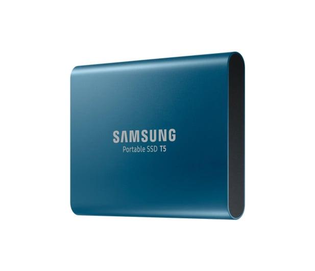 Samsung Portable SSD T5 500GB USB 3.2 Gen. 2 Niebieski - 383634 - zdjęcie 3