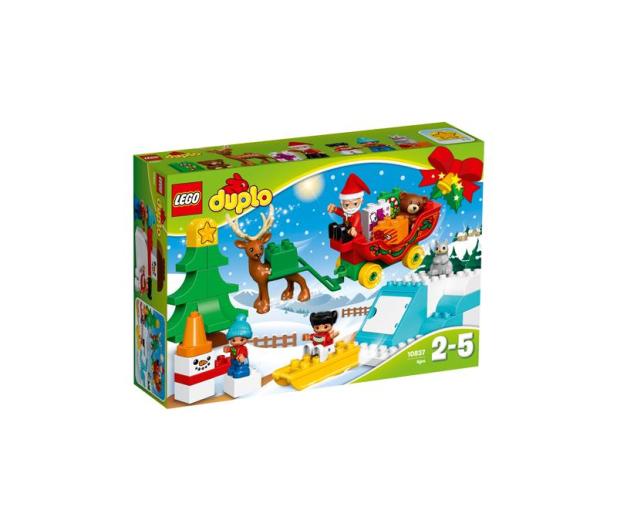 LEGO DUPLO Zimowe ferie Świętego Mikołaja - 383989 - zdjęcie