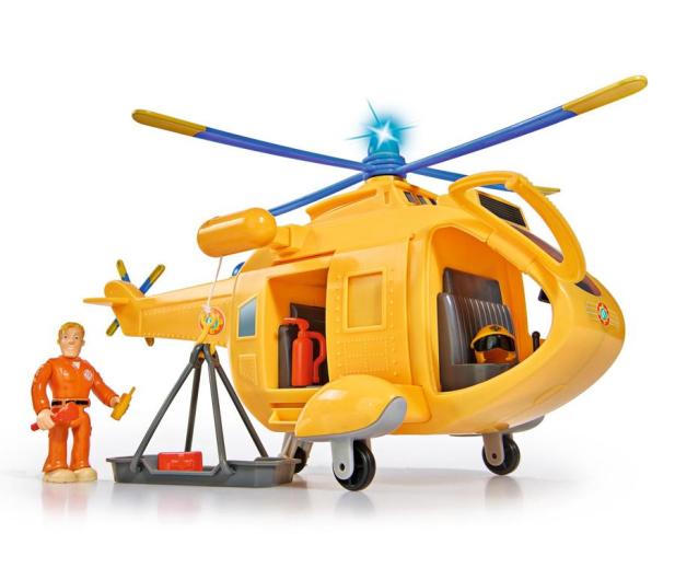 Simba Strażak Sam helikopter Wallaby 2 z figurką - 384009 - zdjęcie