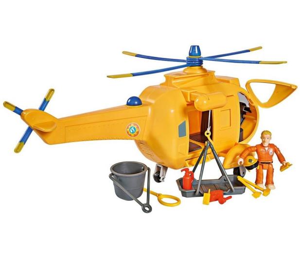 Simba Strażak Sam helikopter Wallaby 2 z figurką - 384009 - zdjęcie 2