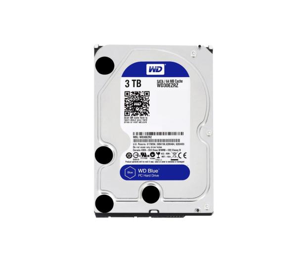 WD 3TB 5400obr. 64MB BLUE - 254255 - zdjęcie