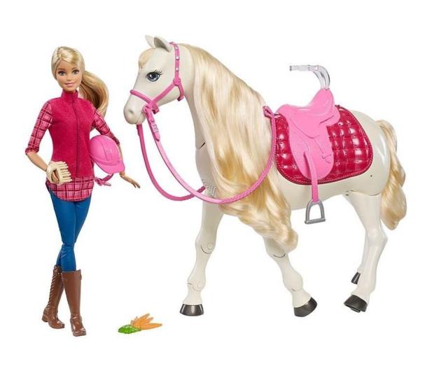 Barbie Interaktywny Koń z Lalką - 384900 - zdjęcie