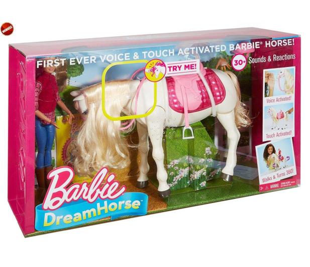 Barbie Interaktywny Koń z Lalką - 384900 - zdjęcie 6