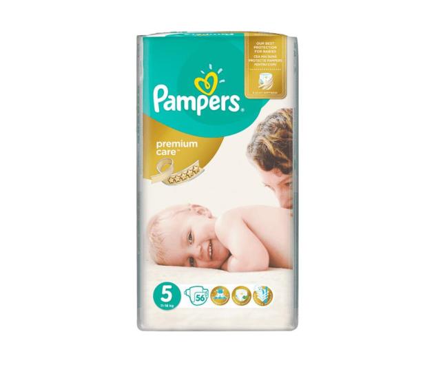 Pampers Premium Care 5 Junior 11-18kg 56szt - 257333 - zdjęcie