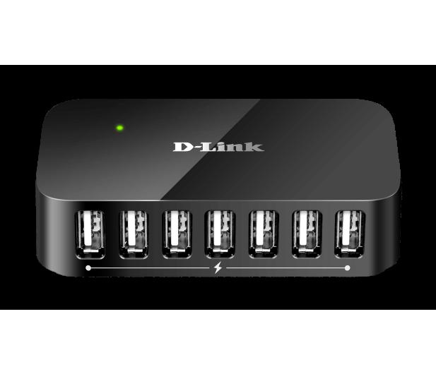 D-Link DUB-H7 USB 2.0 (7 portów, aktywny, zasilacz) - 28204 - zdjęcie