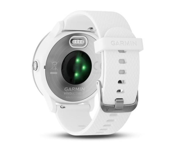 Garmin Vivoactive 3 Srebrny z Białym Paskiem - 381622 - zdjęcie 7
