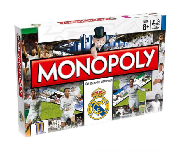 Winning Moves Monopoly Real Madryt  - 401903 - zdjęcie