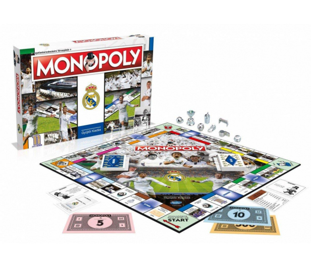 Winning Moves Monopoly Real Madryt  - 401903 - zdjęcie 2