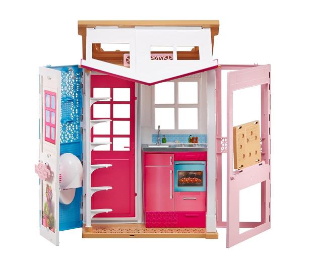 Barbie Dwupoziomowy Domek dla lalek - 401602 - zdjęcie 4