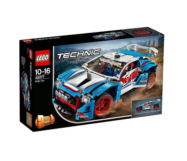LEGO Technic Niebieska wyścigówka - 395195 - zdjęcie