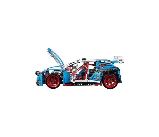 LEGO Technic Niebieska wyścigówka - 395195 - zdjęcie 7